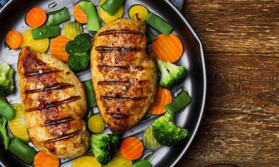 koolhydraatarme maaltijd